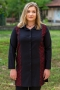 Официална дамска риза (черен)